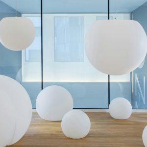 Lampada Happy Apple da interno ed esterno by Petrali