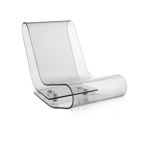 chaise longue trasparente lcp kartell1