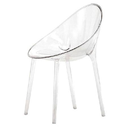 sedia-trasparente-Mr- Impossible-kartell | Arredare con stile
