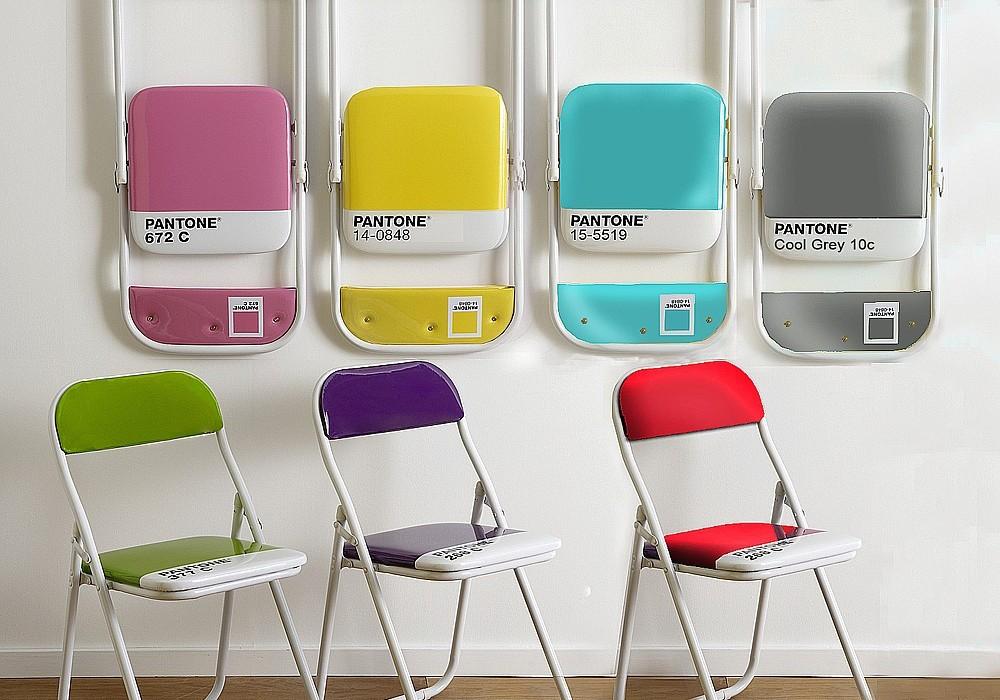 Sedie Pieghevoli Con Porta Sedie.Sedie Pieghevoli Design Il Bestseller Pantone Chair Di Seletti