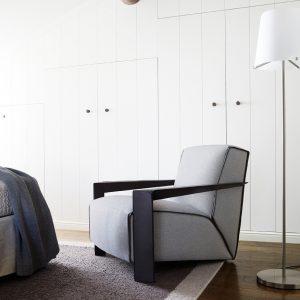 Poltroncina design Chelsea di Swan