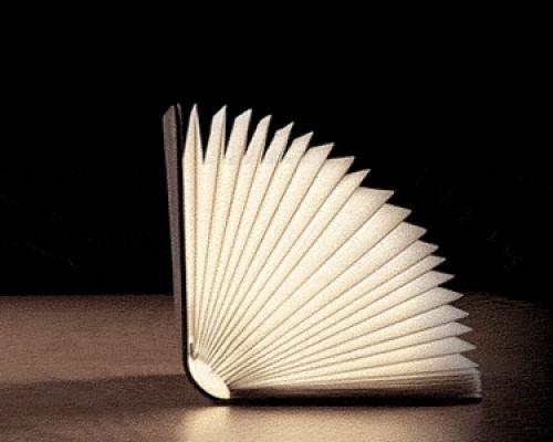 lampada design lumio libro