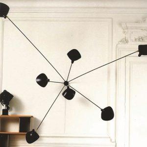 Lampade Serge Mouille: un must dell'illuminazione di design