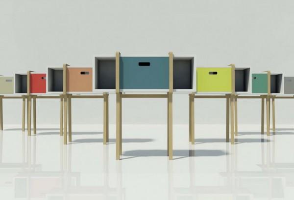 mobili contenitori arredare con stile