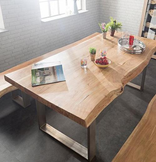 Tavolo Da Pranzo Legno E Acciaio.Tavoli Da Pranzo Unici Spendendo Meno Di Mille Euro