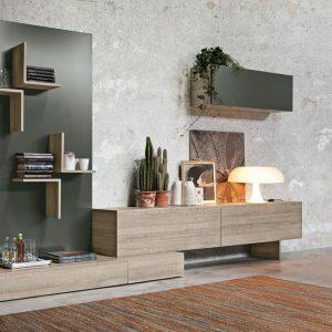Il sistema Magnetika di Ronda Design: mensole, librerie e pareti attrezzate senza fissaggio meccanico