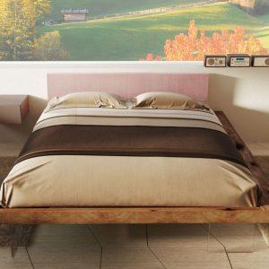 Letto Frame: il design nella stanza da letto secondo il marchio Lago