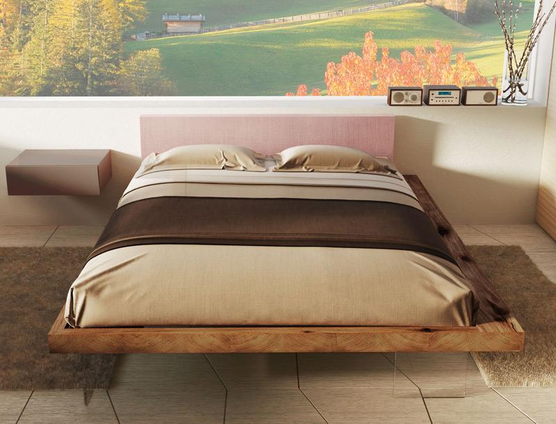 Letti Di Design In Legno : Letto frame il design nella stanza da letto secondo il marchio
