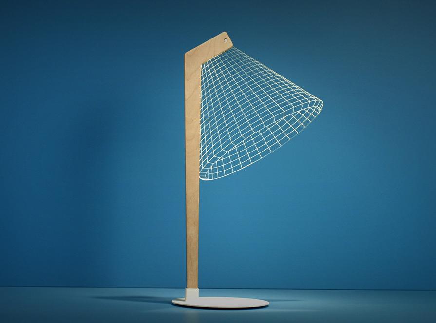 La lampada da tavolo con effetto d di studio cheha arredare con