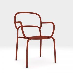 Sedia Moyo di Chairs & More: un'unica linea disegna un grande confort