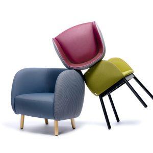 Chairs&More presenta Mousse, avvolgente e soffice collezione disegnata da Tommaso Caldera