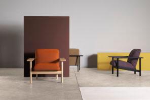 Linee strutturate e una morbida seduta: Zilio A&C presenta la poltrona Kinoko
