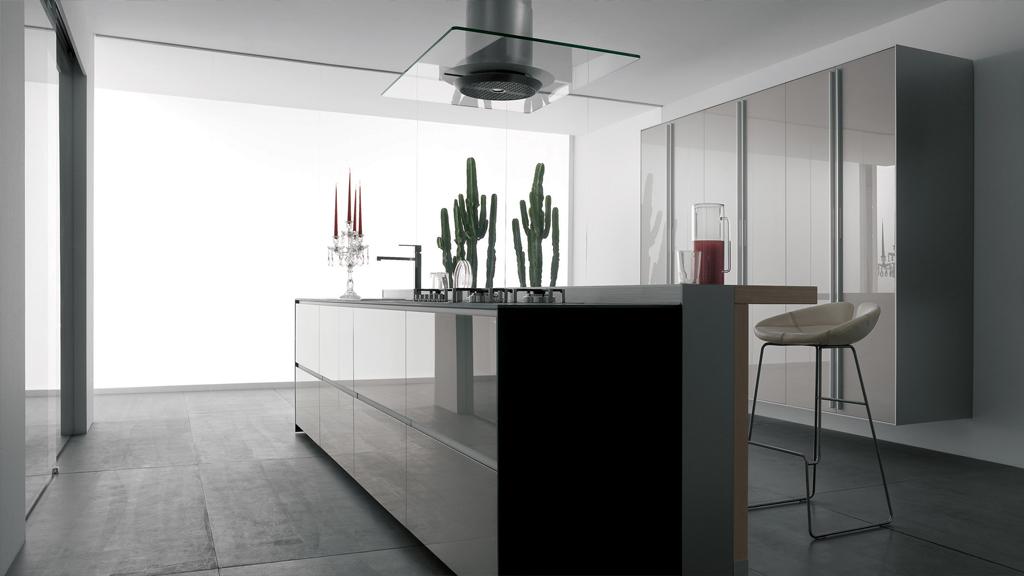 Artematica di Valcucine: la cucina sostenibile con telaio in alluminio
