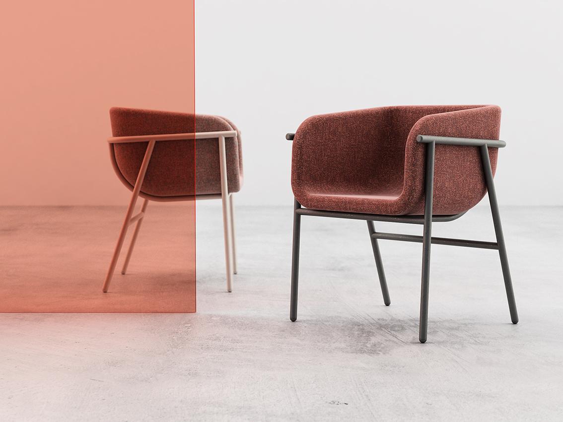 Design fresco e accattivante per Flora di Chairs & More