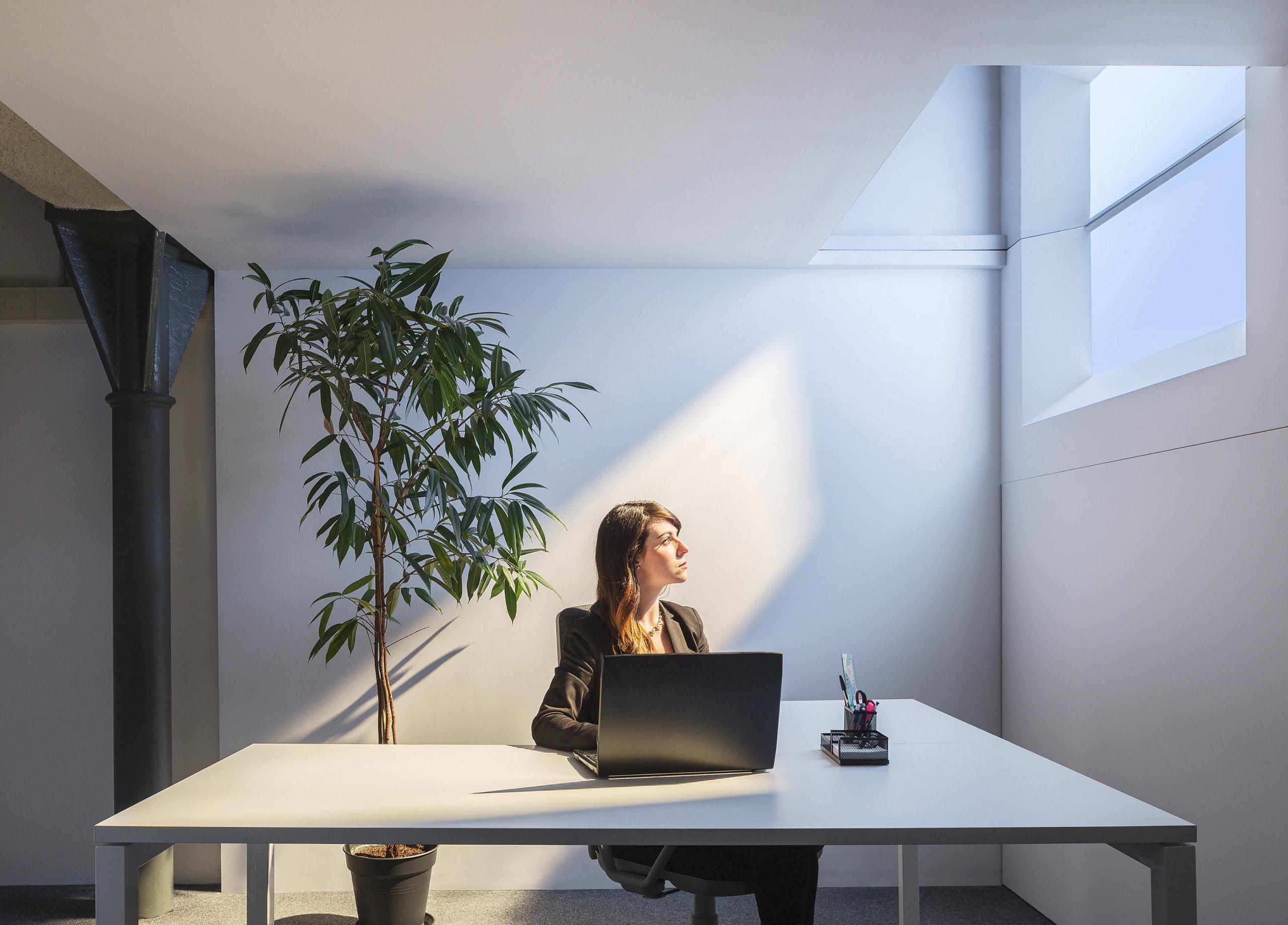 Più luce negli spazi privi di finestre con COELUX.