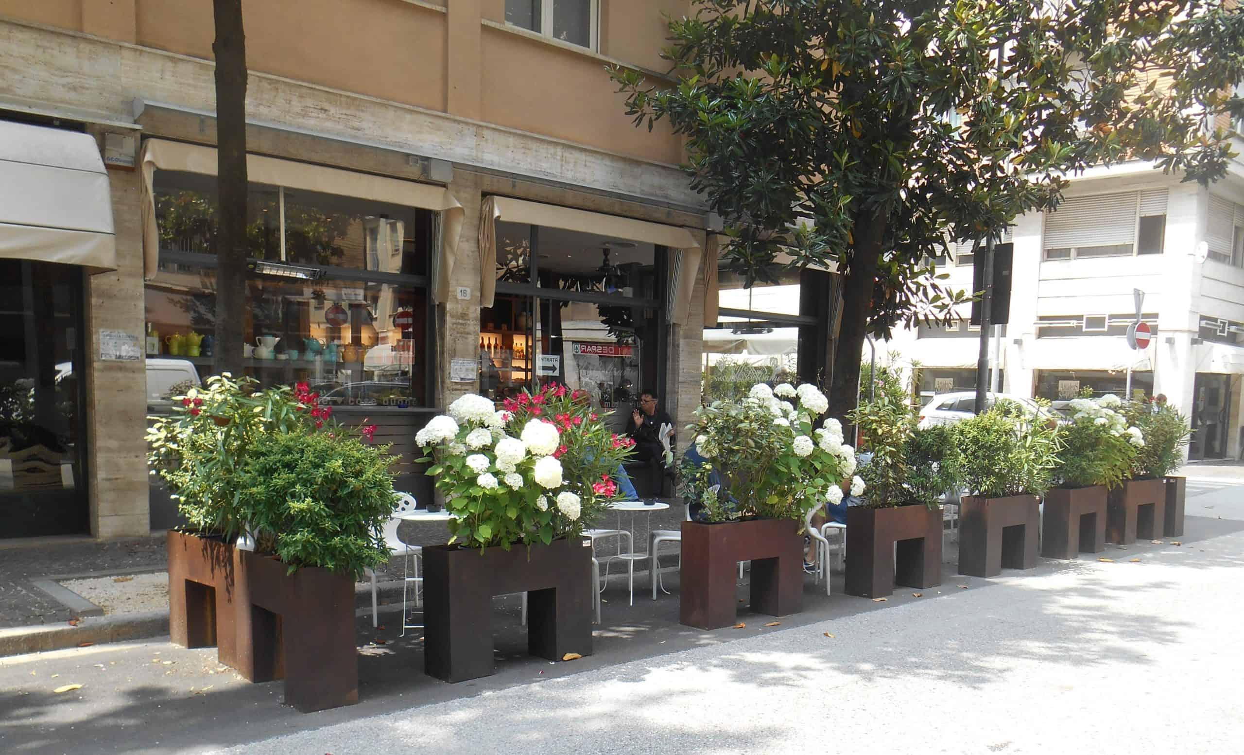 Una scelta green per ritrovarsi in sicurezza nei locali di Udine, firmata Il Giardino di Corten