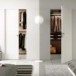 cabina armadio doppia porta in cartongesso