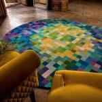 tappeto circolare islands rug