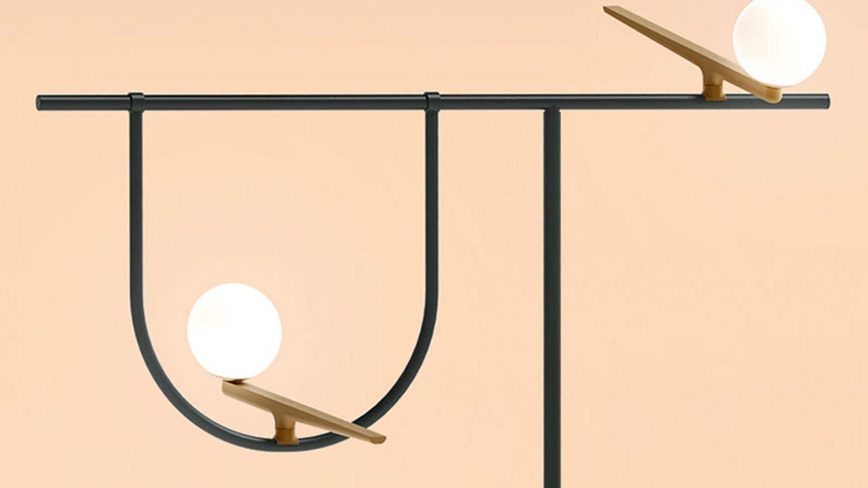 piantana design artemide yanzi illuminazione da terra